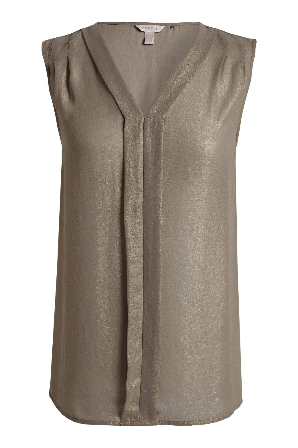 Glittering chiffon - nice style but I don't like the colour. Grey or black  would be nice or even a nice purple!