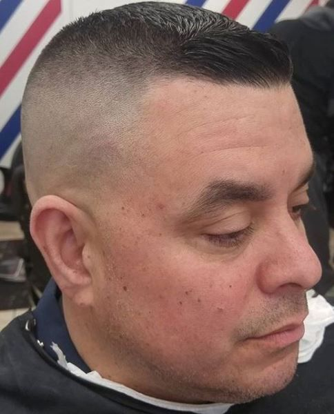 tight military fade barbershops