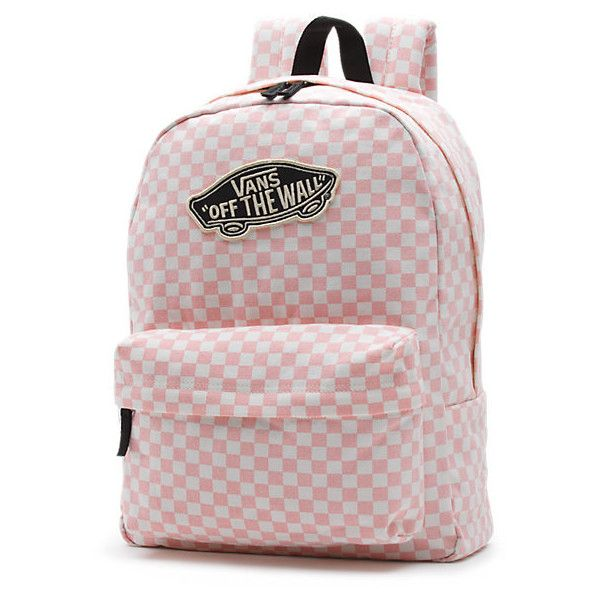 The Vans Checkerboard Backpack is a cotton washed canvas backpack with  polyester lining, a main zippered compartment, a front organization pocket,  ...