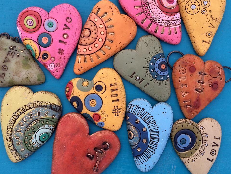 Timeline Photos Bull S Eye Studio Facebook Painted Rocks Rock Painting Ideas Easy Heart Painting