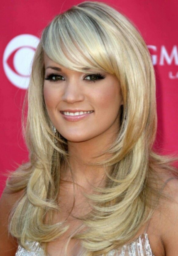Front Bangs Hairstyles Pinterest Haircut Images