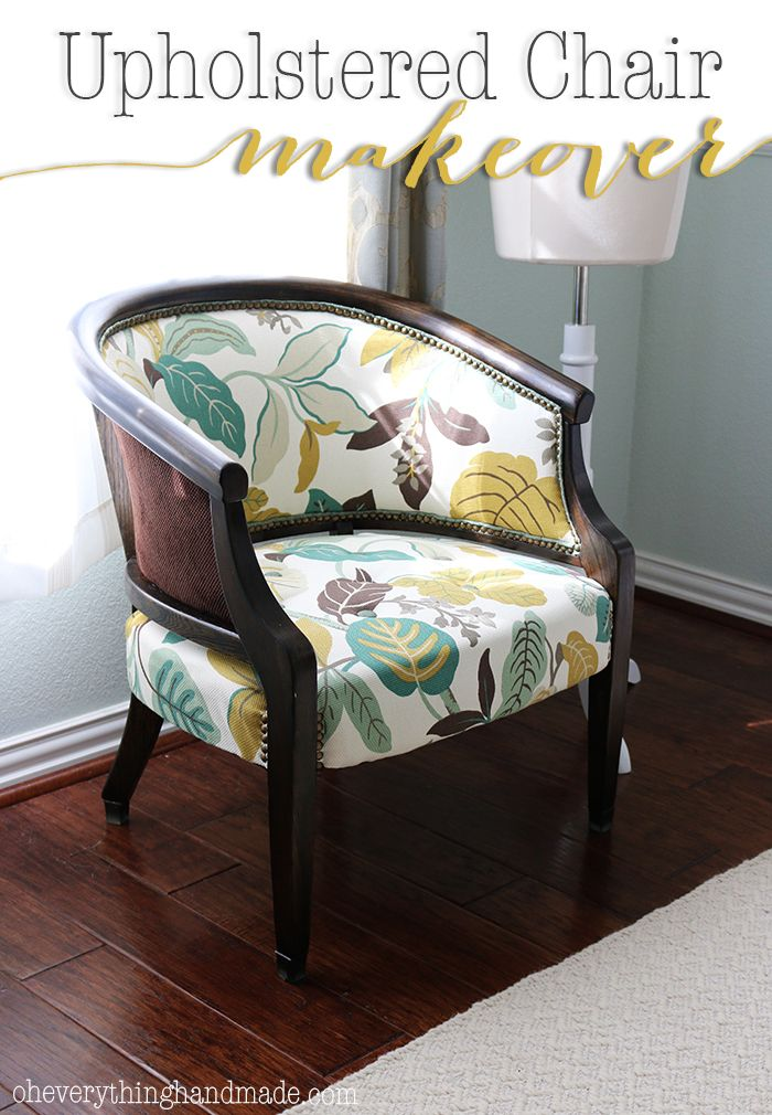 Reveal // Upholstered Chair Makeover   From The Moment I Saw This Old Chair  At A Local Store, I Knew I Had To Have It! It Has Been My First Biu2026