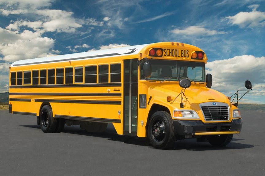 New School Buses Set To Roll For Columbus City Schools School Bus Yellow School Bus Bus