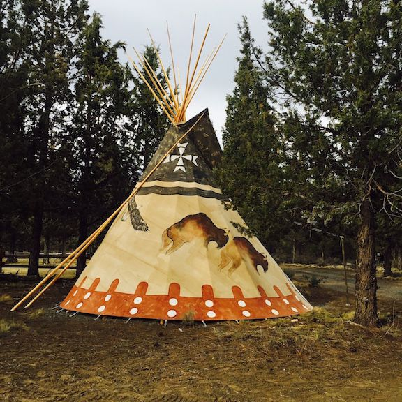 Pictures of authentic indian tee pees good