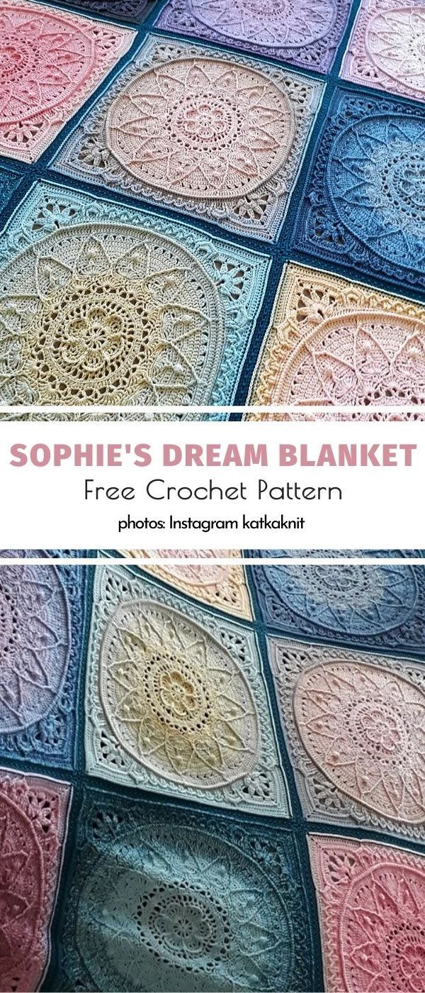 Photo of Sophie's Dream Blanket Free Crochet Pattern