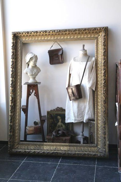Frame It Out: Use empty picture frames to highlight a trend or ...
