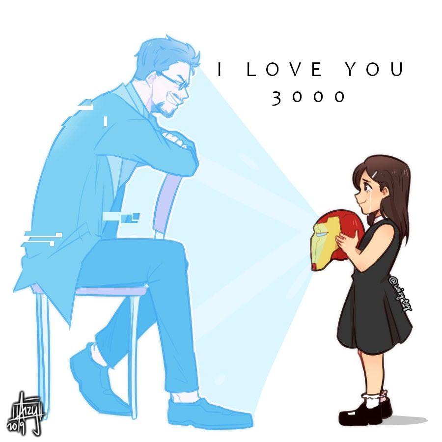 I Love You 3000 Tony Stark Marvel Superheroes Marvel Marvel Heroes