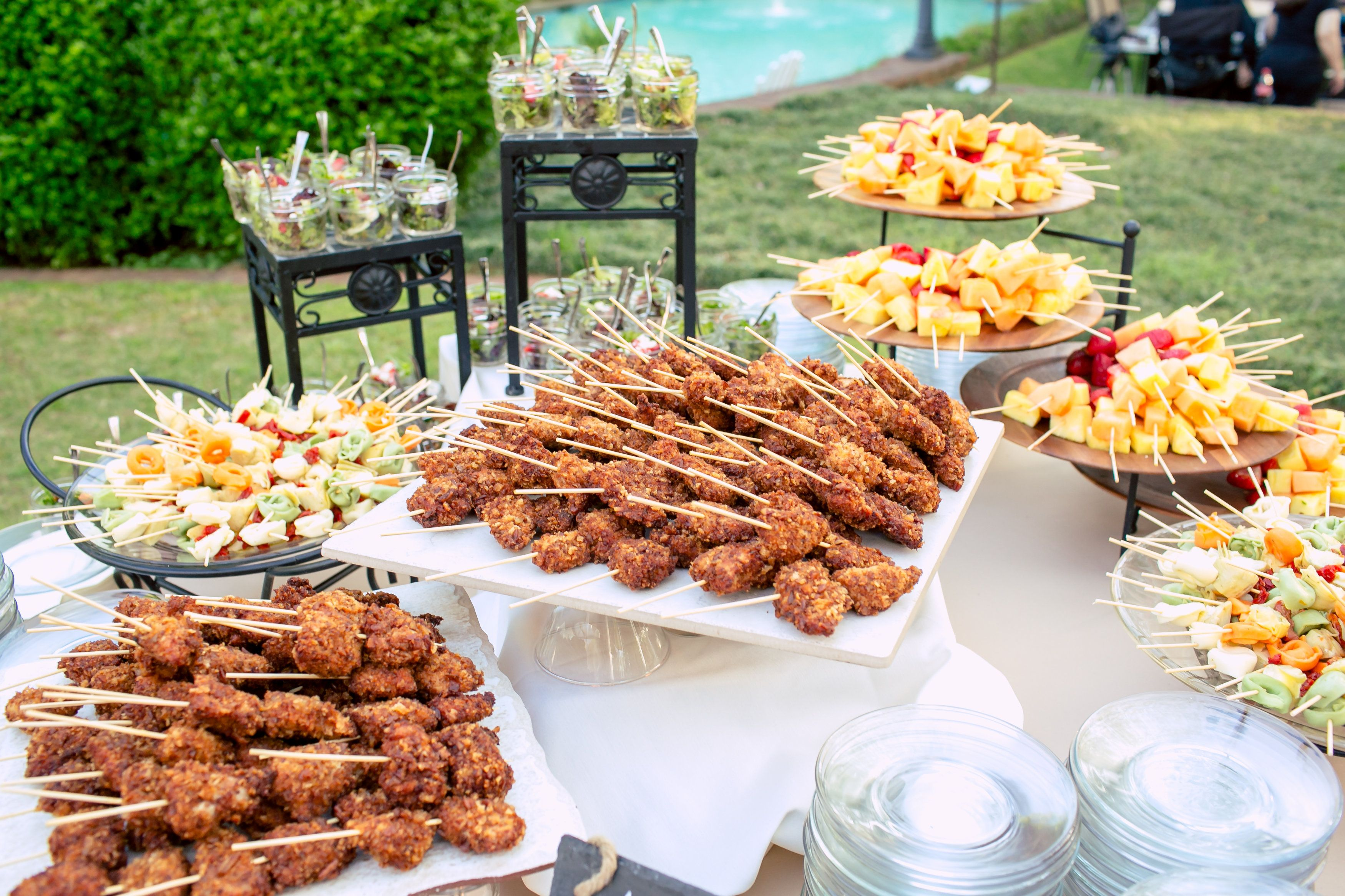 stylish display catering ideas southern wedding wedding