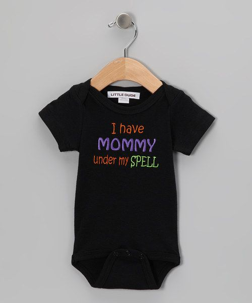 Look at this Black 'Mommy' Bodysuit - Infant on #zulily today!