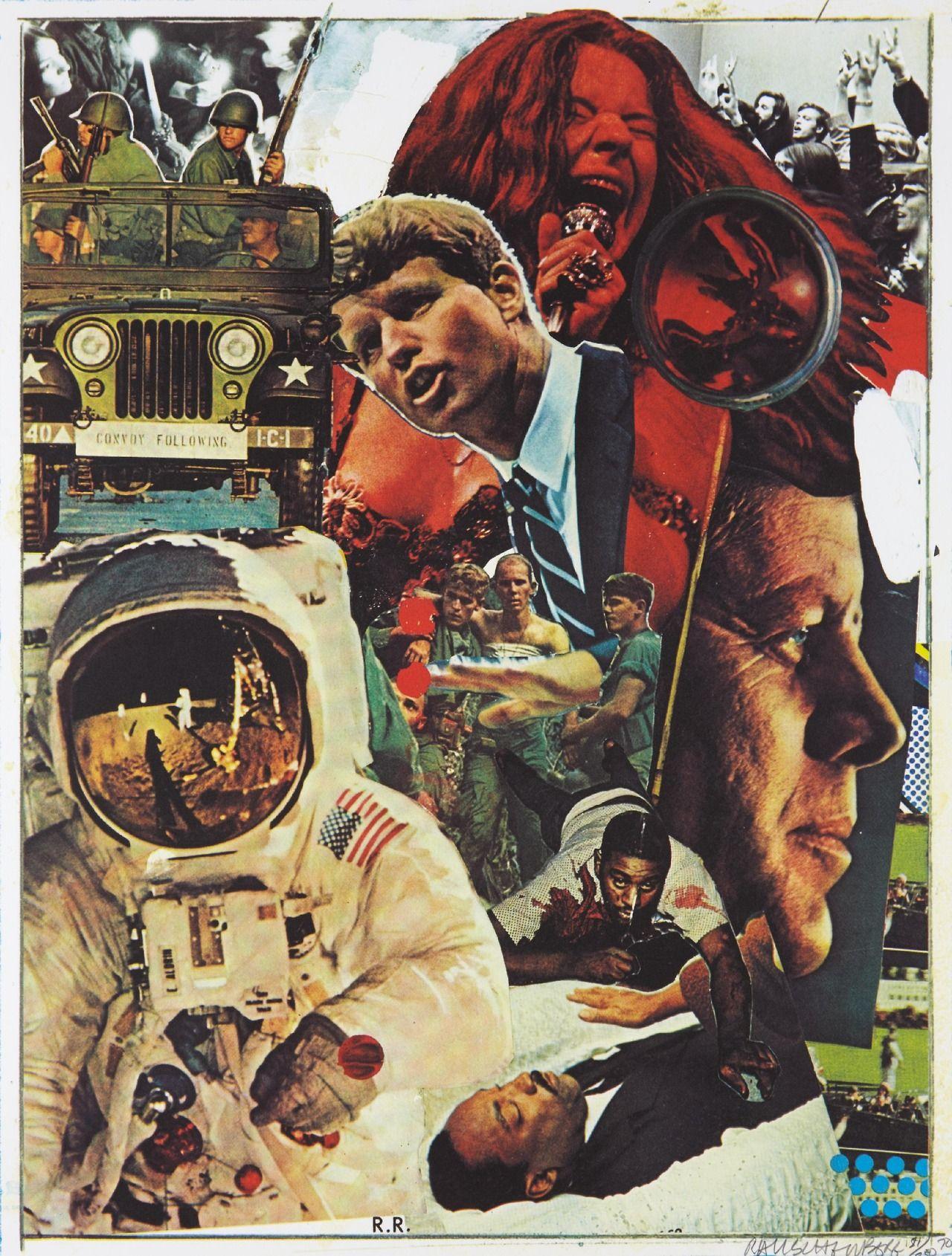 Signs, 1970 — Robert Rauschenberg