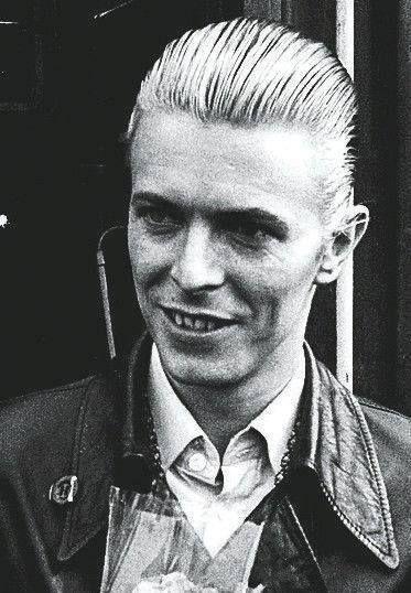 David Bowie. Helsinki, April 24 1976.