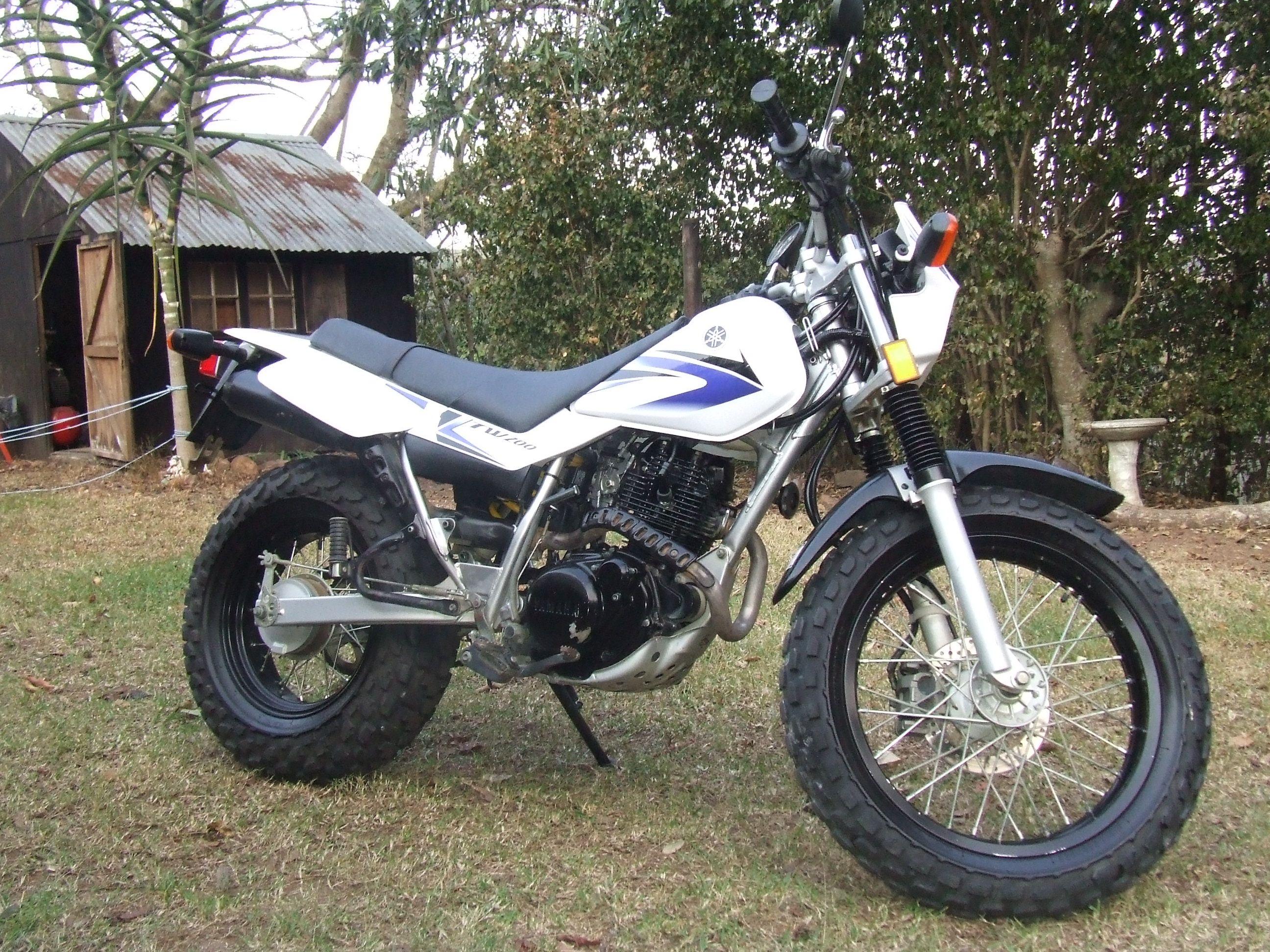 2006 Yamaha Tw200 South Africa Yamaha Tw200 Tw200 Yamaha