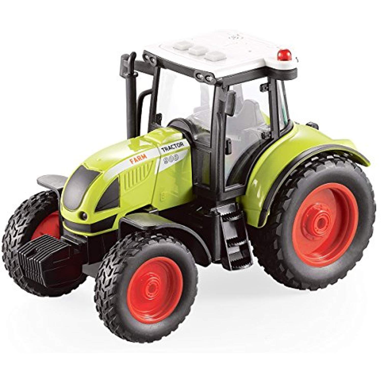 Fistone 1 16 Truck Inertia Farm Tractor Modern Farm Machinery Car Toy Simulation Farmer Tractor Hobby Toys For Kids With Led Li Tractors Farm Toys Farm Tractor
