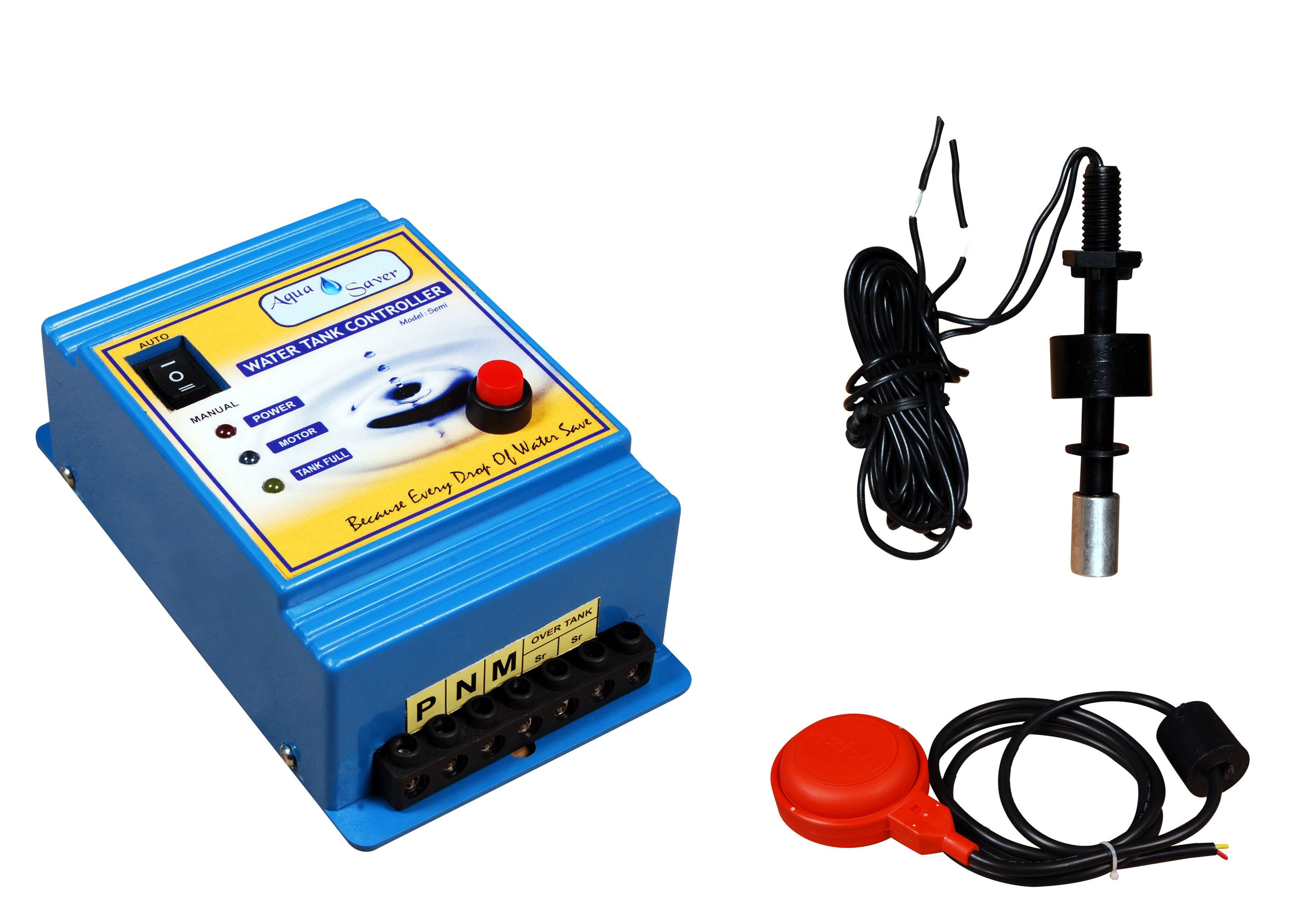 Semi Automatic Water Level Controller Floating In Water Control Level Sensor