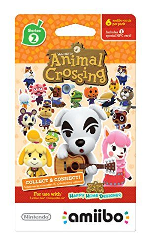 Animal Crossing amiibo cards Series 2 (6-Pack) - Nintendo Wii U
