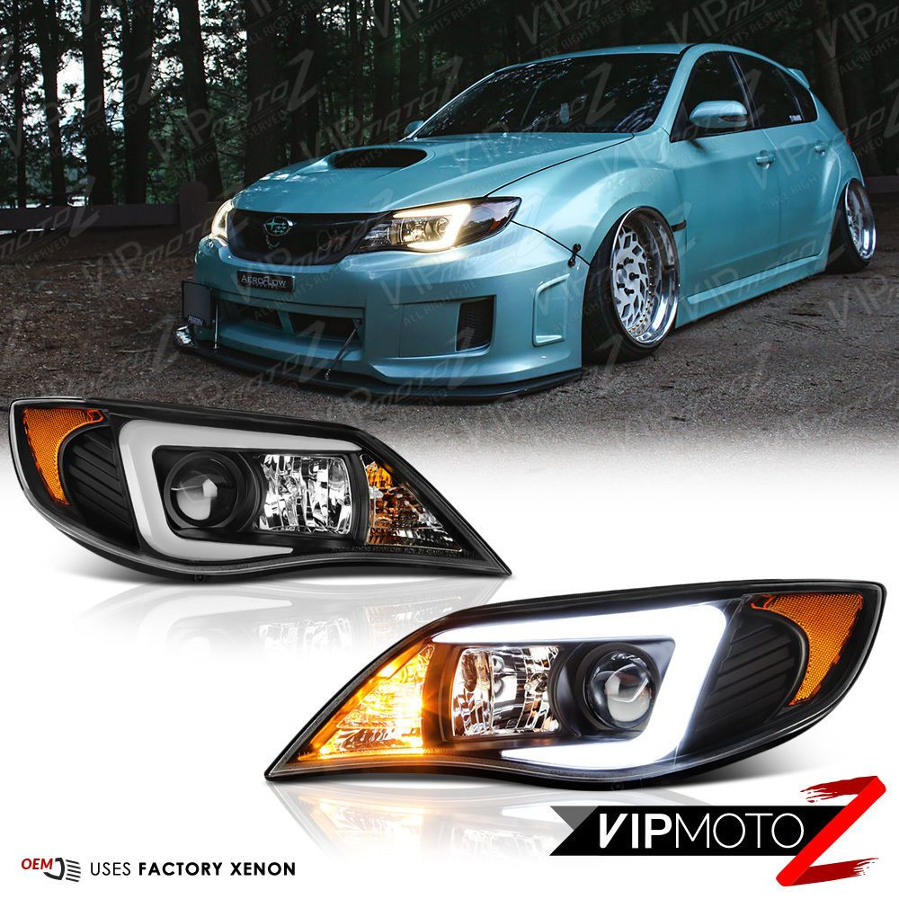 Venom Inc Headlights >> Details About C Shape Oled Tube Headlights Lamps For 2008 2014