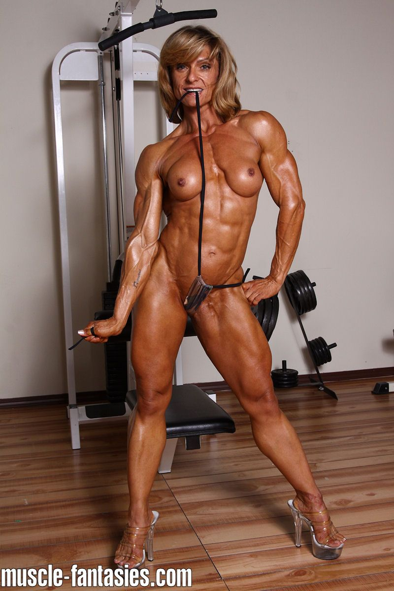 Muscle girl porn videos-8561