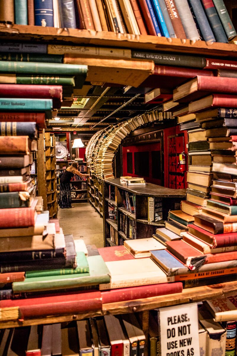 20 Funky Things To Do In Downtown Los Angeles The Last Bookstore Los Angeles Travel California Travel