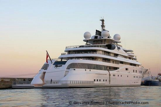 The 5th largest yacht in the world!