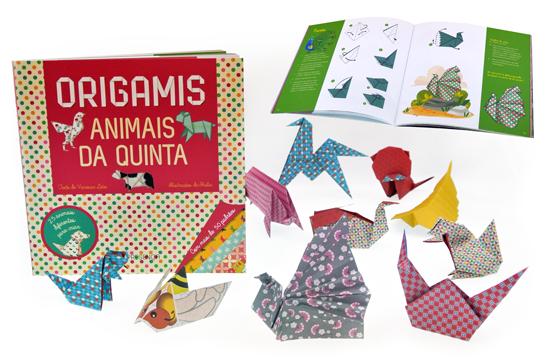 """Aprende a fazer Origamis!   """"Origamis - Animais da Quinta"""""""