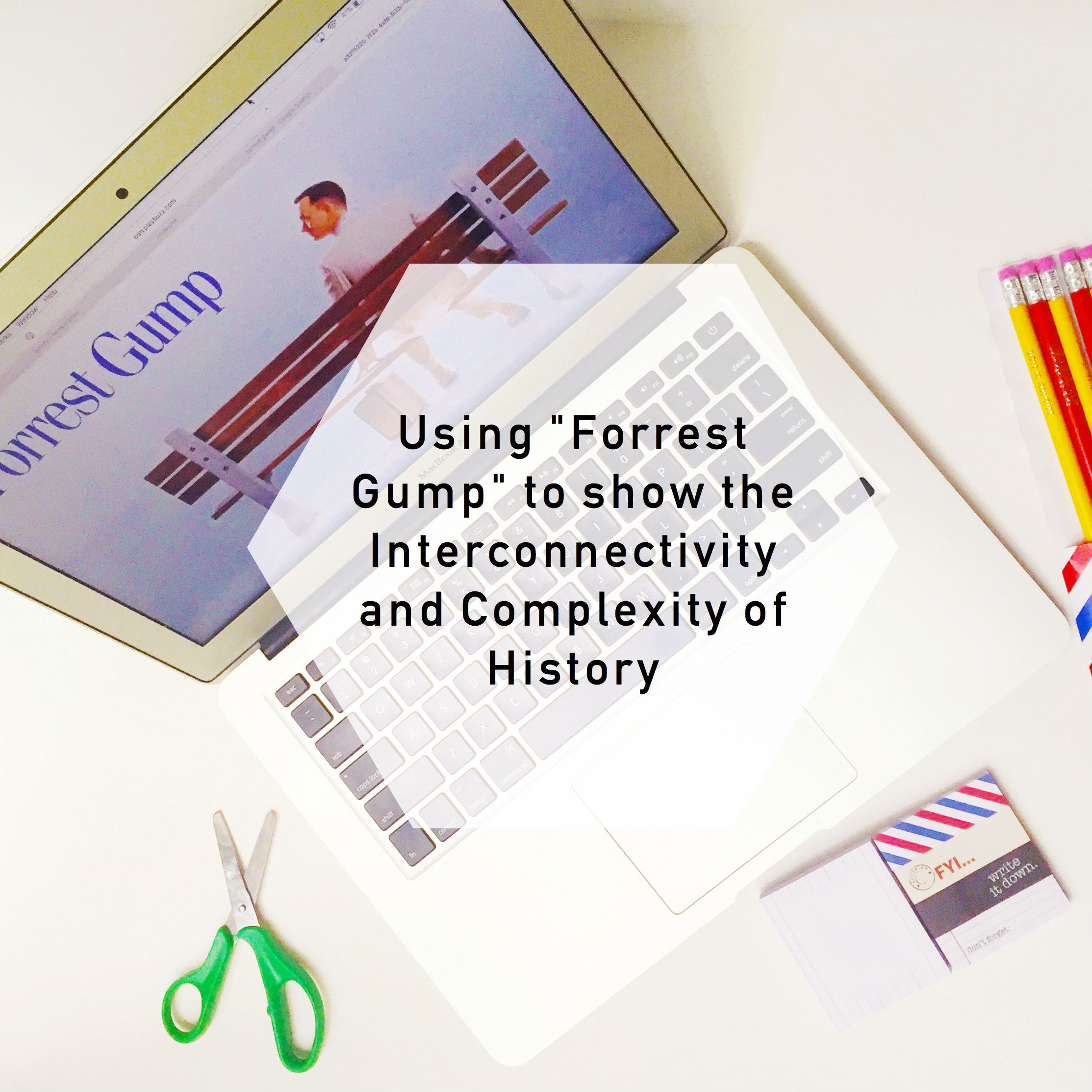 The History House Lesson Plan On Using The Forrest Gump
