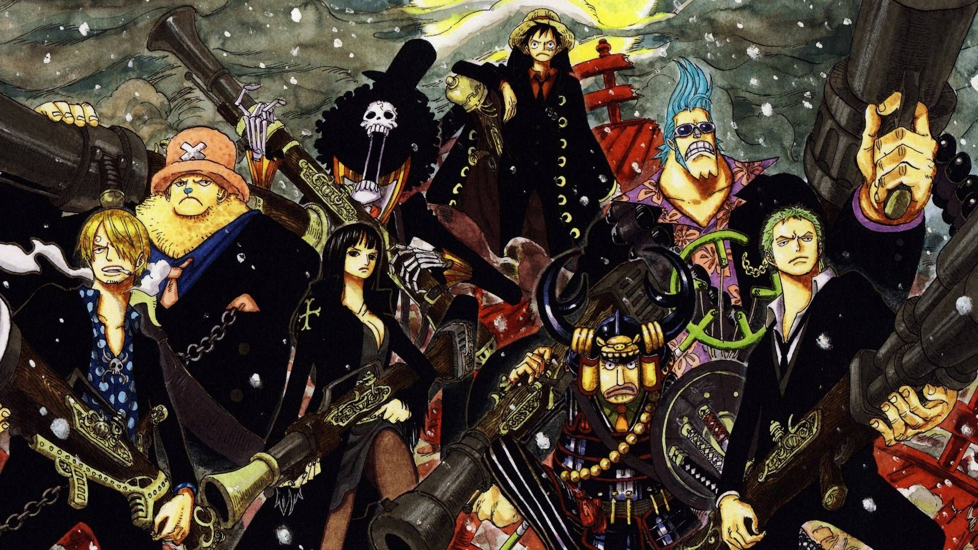 10 Most Popular One Piece Best Wallpaper Full Hd 1080p For Pc Background One Piece Crew One Piece Wallpaper Iphone Brooks One Piece