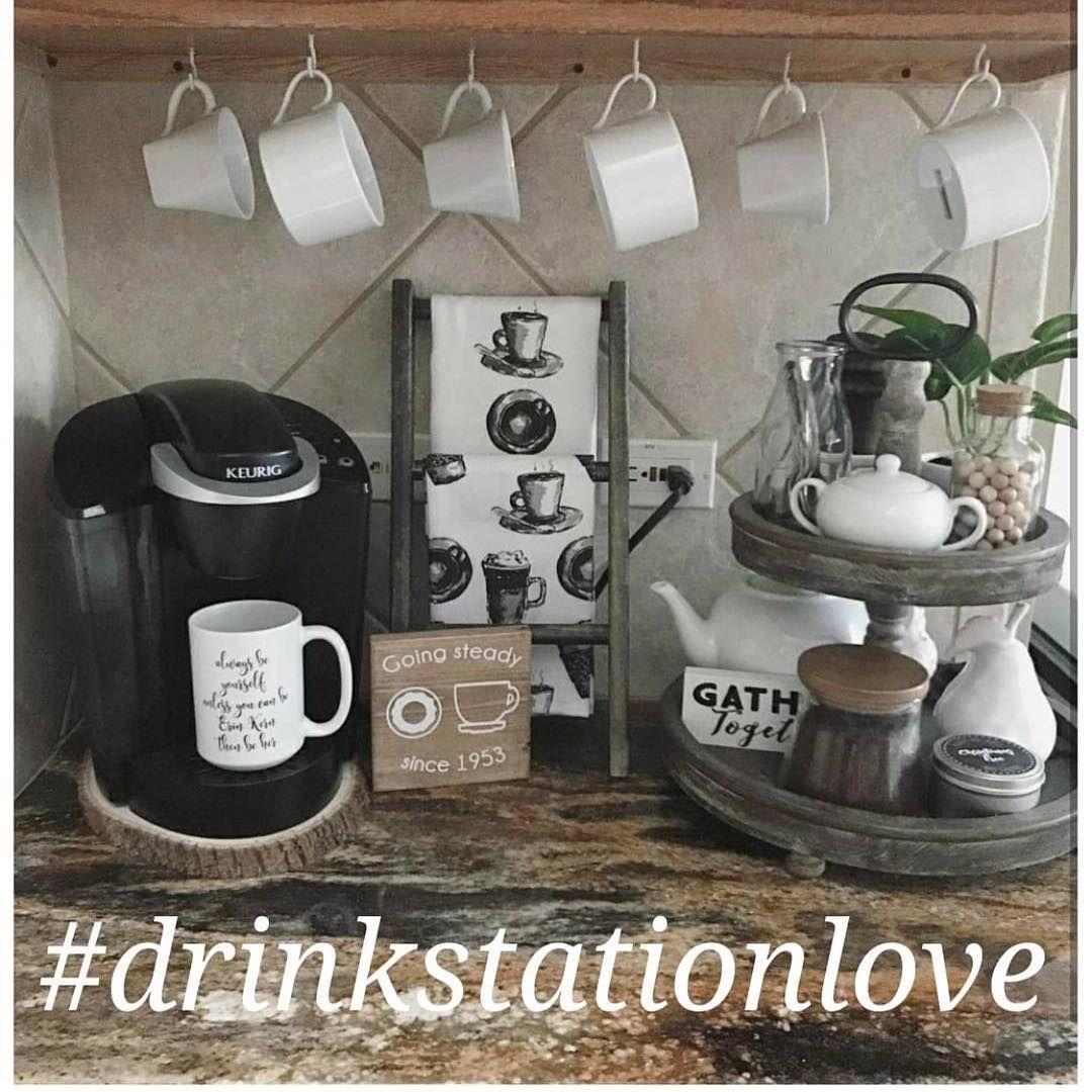 Instagram | Coffee bar, Drink station, Coffee