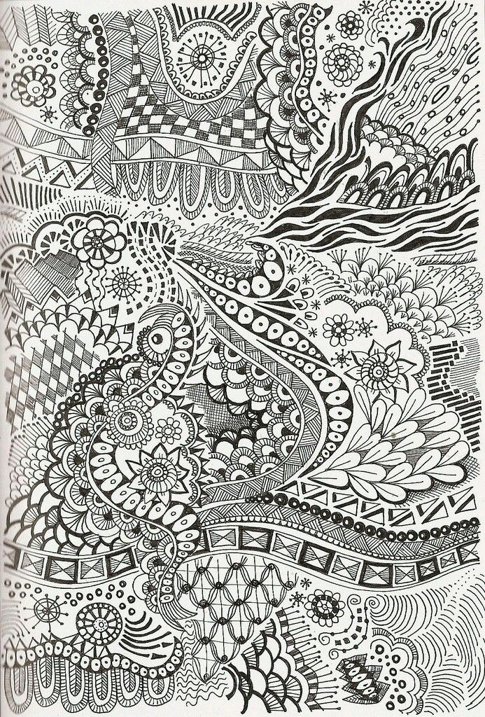 Revue Coloriage Adulte.Flower Drawing Sharpies Doodles Lettering Drawing En