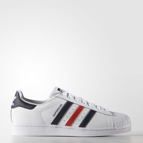 sports shoes 5e815 b323c Men s Superstar Foundation Shoes - White. Chaussure Superstar Foundation - blanc  Adidas ...