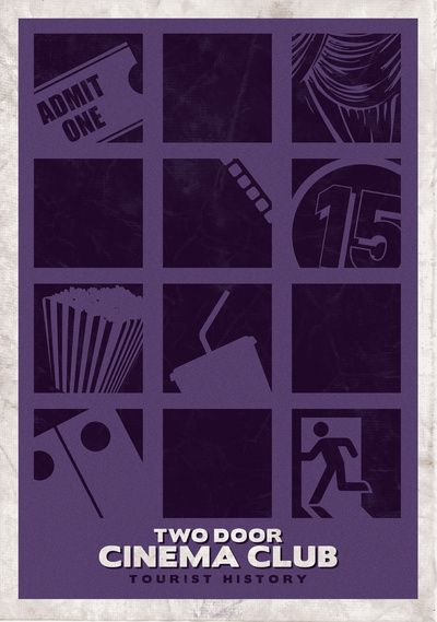 Two Door Cinema Club Tourist History Art Print Two Door Cinema Club Club Poster Music Poster