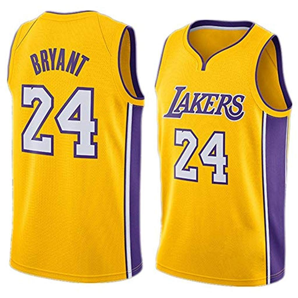 Kobe Bryant # 24 Jersey Basketball Hommes Los Angeles Lakers