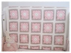 Prinsessajuttu: Virkattu peitto vauvalle
