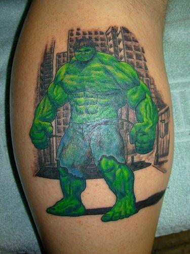 85 Fantasmagorical Superhero Tattoos
