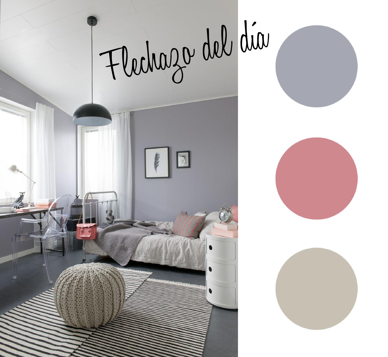 Dormitorios infantiles estilo escandinavo paleta for Habitaciones juveniles pinterest