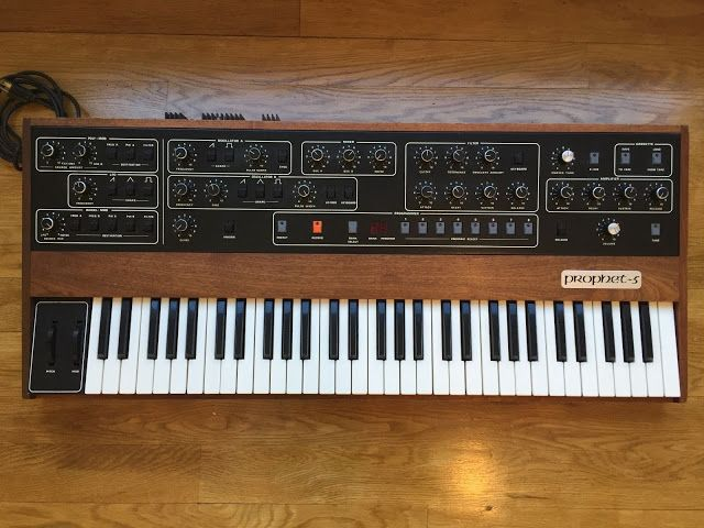 MATRIXSYNTH: Sequential Circuits Prophet-5 SN 1705