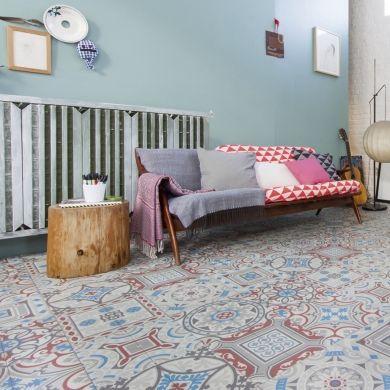 shalimar 595 ivc 588202 persee sol pvc amb1 imitation ciment pinterest sol carreaux de. Black Bedroom Furniture Sets. Home Design Ideas