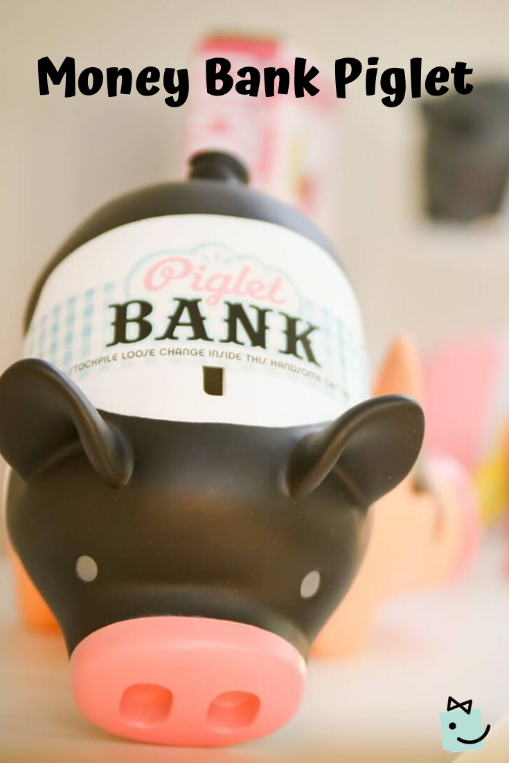 Money Bank Piglet In 2020 Money Bank Piggy Bank Gifts For Kids