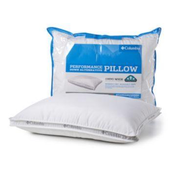 Columbia Performance Down Alternative Pillow Pillows Soft