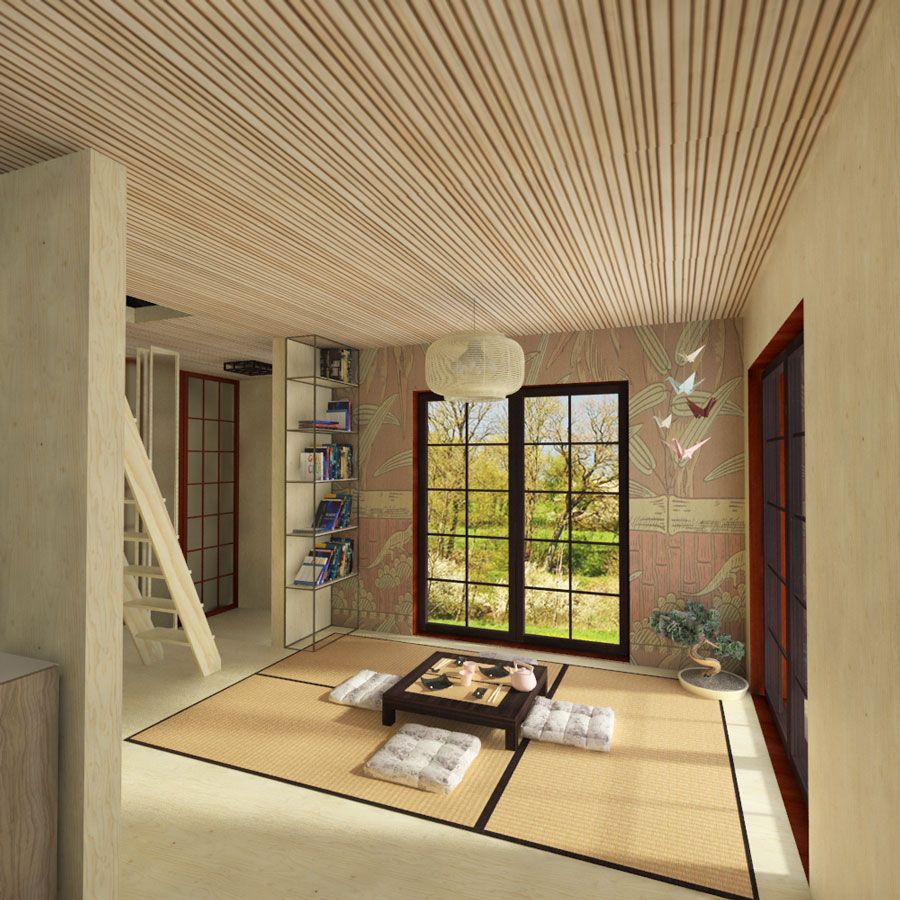 Japanese Small House Plans Small House Design Small House Plans