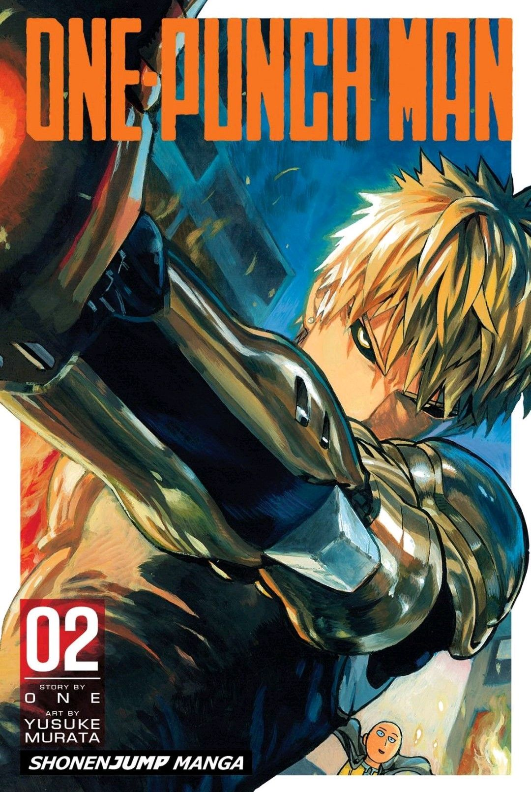 Manga Cover Mangá one punch man, Soco e One punch man
