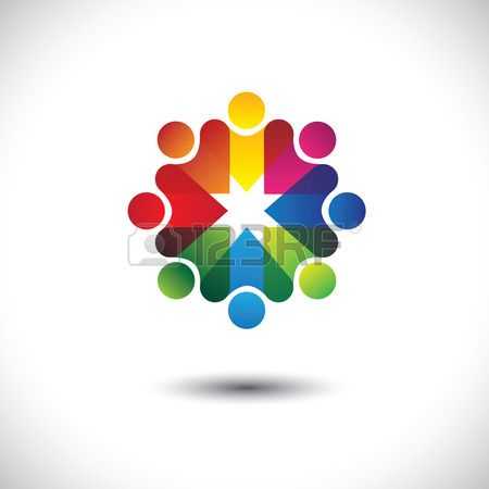 Pin En Rainbow Pattern