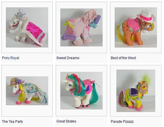 Vintage 1980/'s My Little Pony Accessories ~ CLOTHES /& ACCESSORIES ~ Choose yours