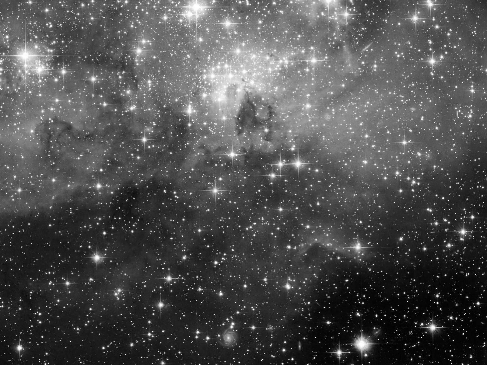 Outer Space In Greyscale Black And White Jpg 1600 1200 Night Sky Tattoos Sky Tattoos Galaxy Black And White