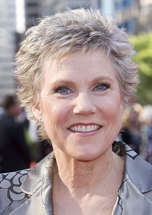Anne Murray-Classy Celebrity Hairstyles for Women with Gray Hair