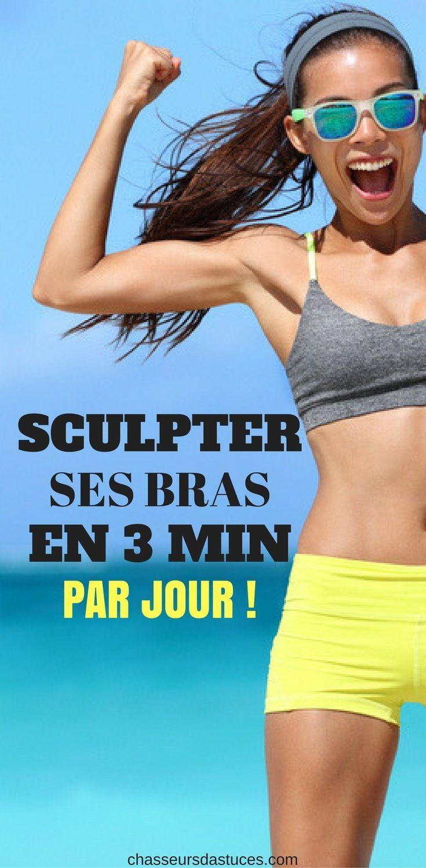 6 EXERCICES POUR SCULPTER SES BRAS EN 3 MIN