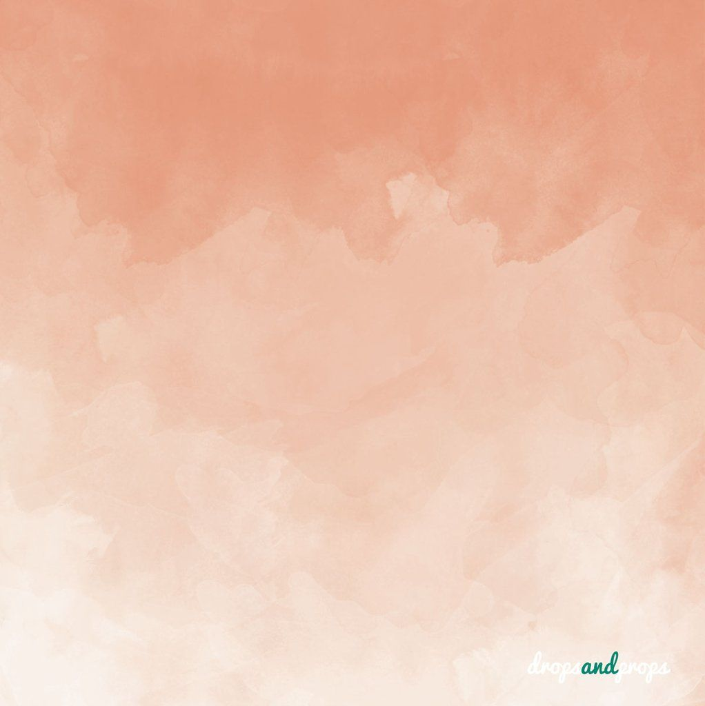 Peach Watercolor Photography Backdrop Peach Background