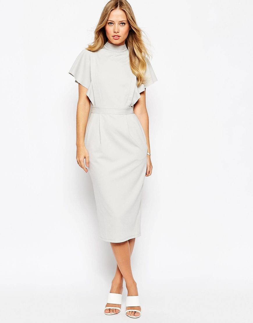 Long sleeve swing dress asos us