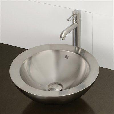 vessel sinks above counter bathroom