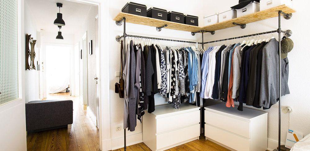 walk-in-closet-begehbarer-kleiderschrank-ikea-kommode-malm-hack ...