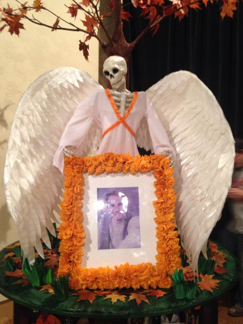 Guardian Angel from my ofrenda